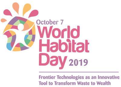 world habitat day 2019